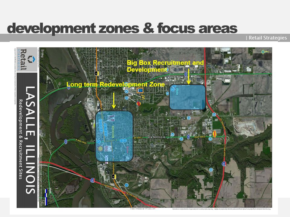 development zones & focus areas