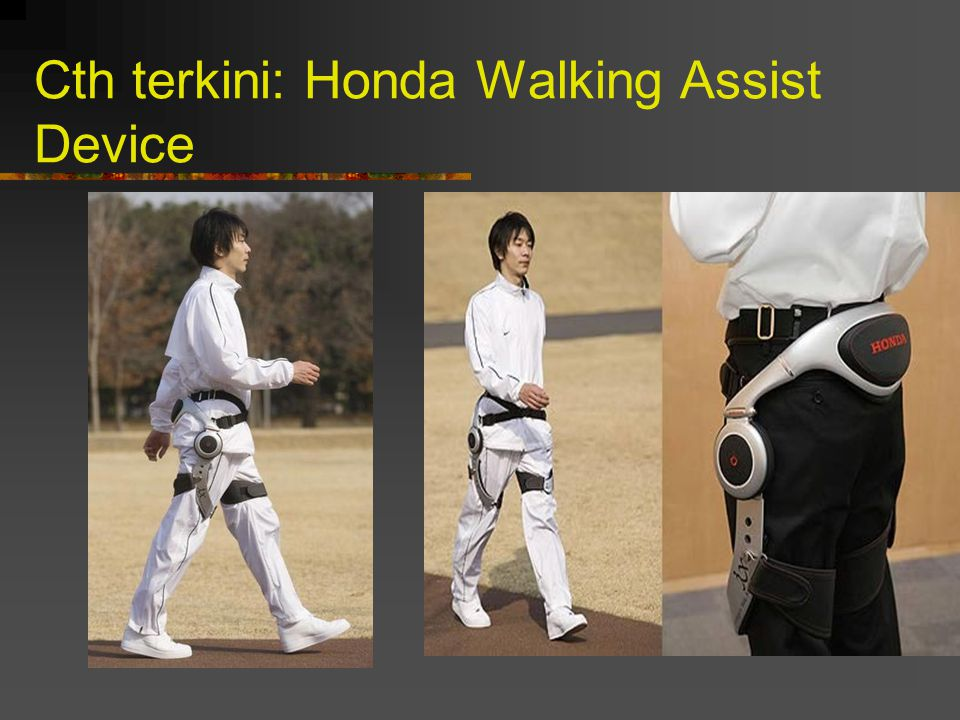 Cth terkini: Honda Walking Assist Device
