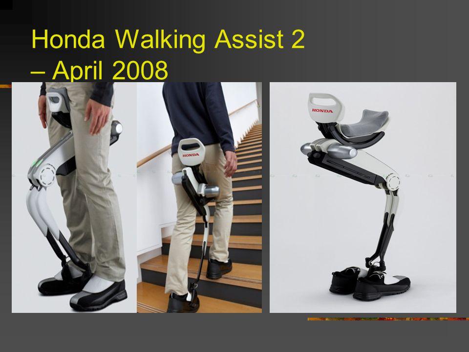 Honda Walking Assist 2 – April 2008