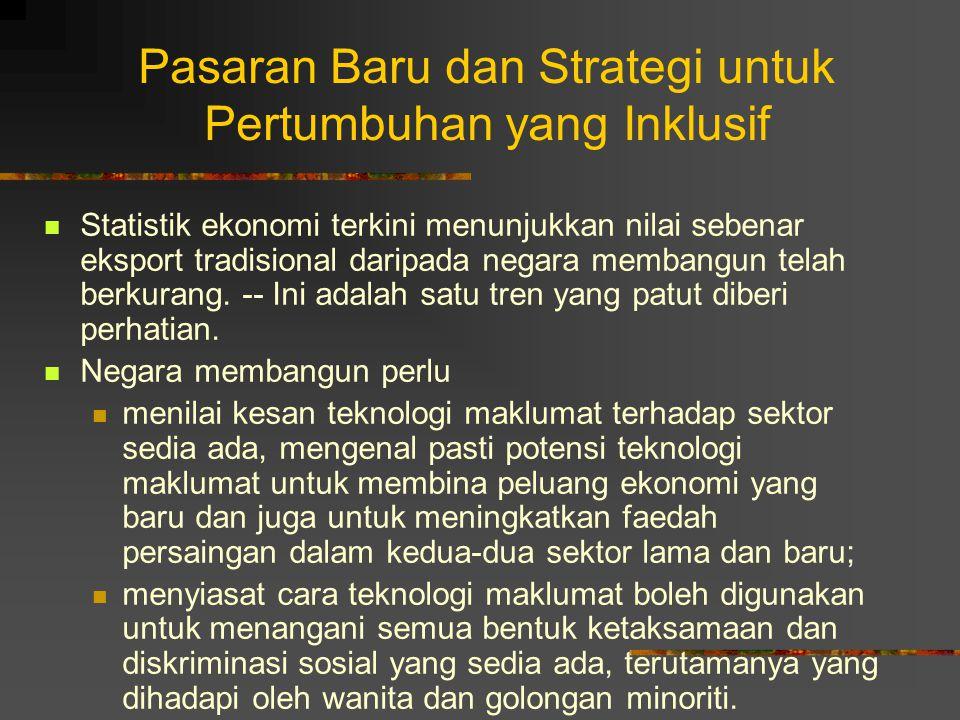 Pasaran Baru dan Strategi untuk Pertumbuhan yang Inklusif