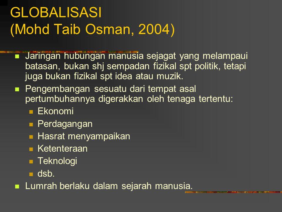 GLOBALISASI (Mohd Taib Osman, 2004)