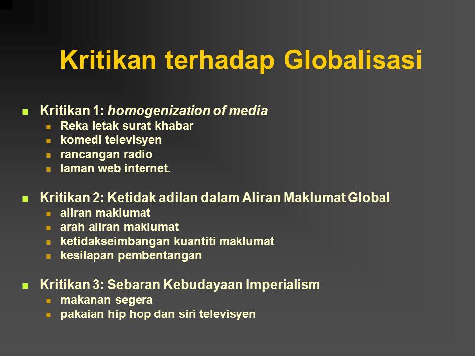 Kritikan terhadap Globalisasi
