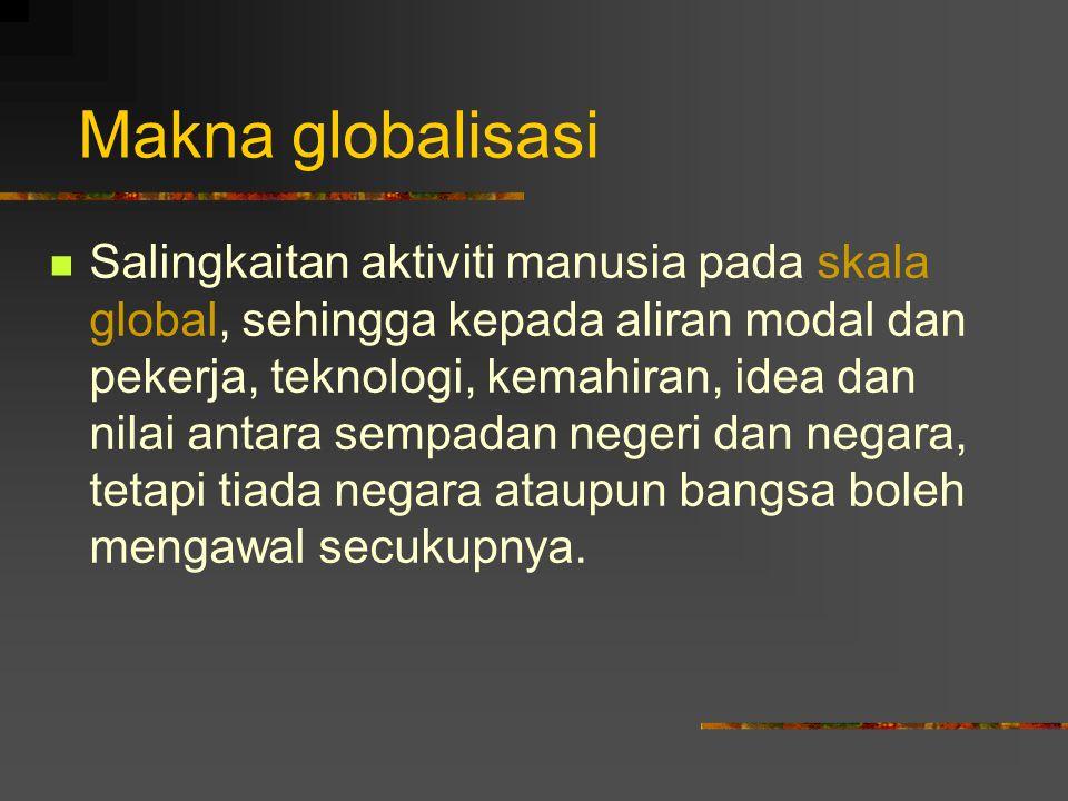 Makna globalisasi