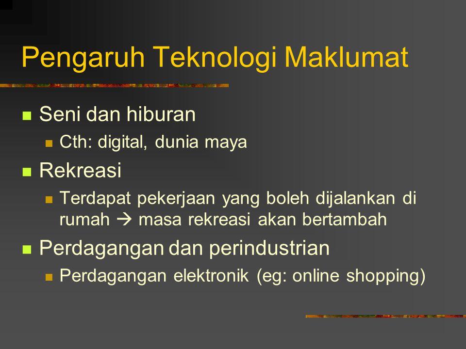 Pengaruh Teknologi Maklumat