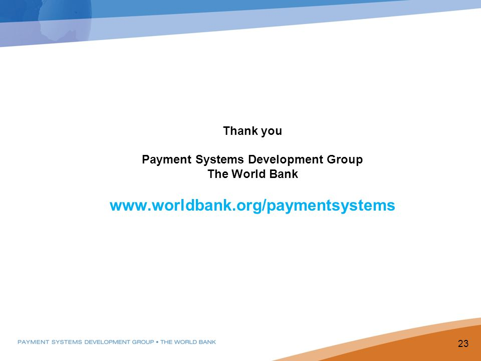 Payment Systems Development Group