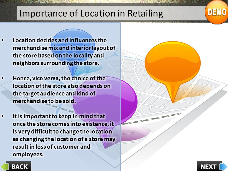 Importance of Location in Retailing