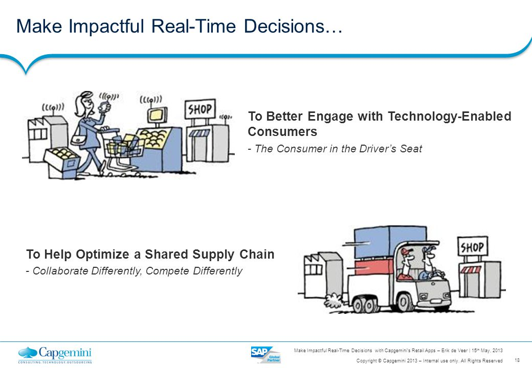 Make Impactful Real-Time Decisions…