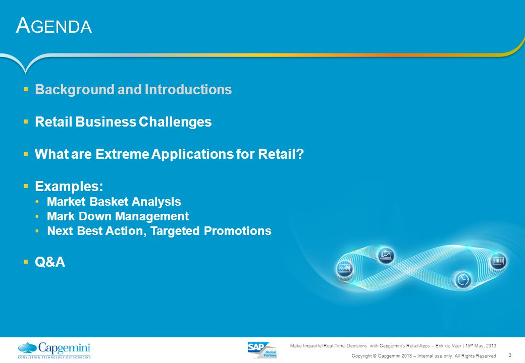 Agenda Background and Introductions Retail Business Challenges