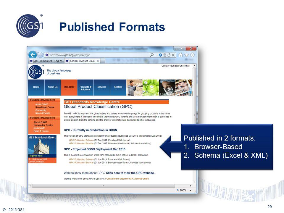 Published Formats Published in 2 formats: Browser-Based