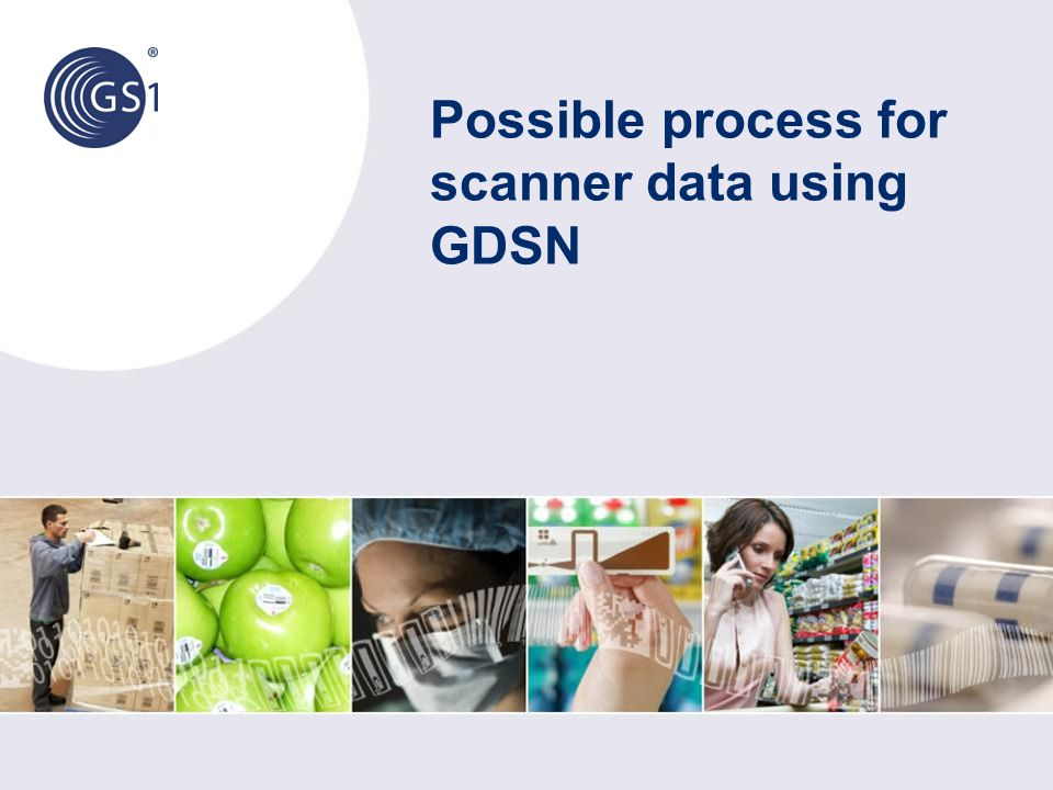 Possible process for scanner data using GDSN