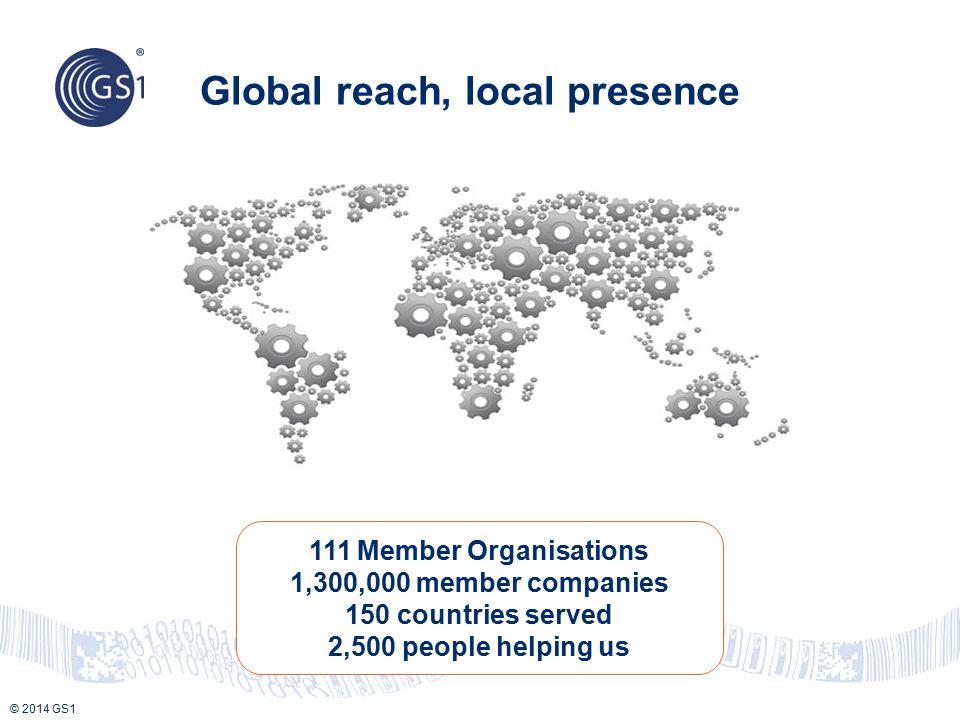 Global reach, local presence