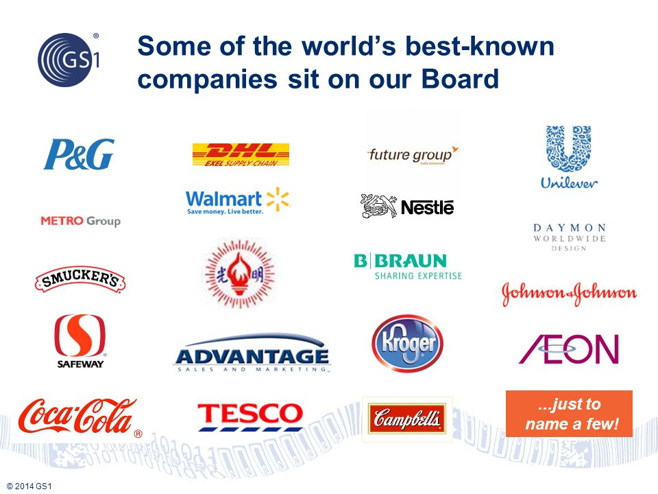 Some of the world's best-known companies sit on our Board