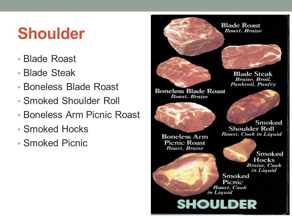 Shoulder Blade Roast Blade Steak Boneless Blade Roast