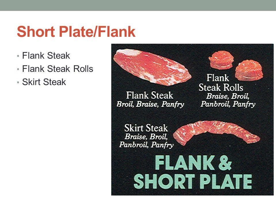 Short Plate/Flank Flank Steak Flank Steak Rolls Skirt Steak