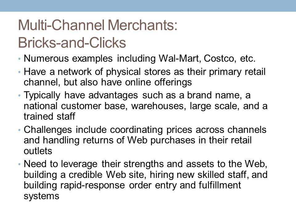 Multi-Channel Merchants: Bricks-and-Clicks