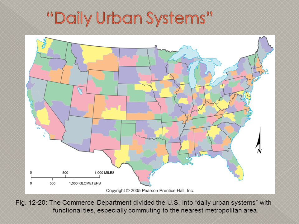 Daily Urban Systems