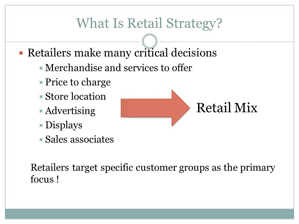 What Is Retail Strategy