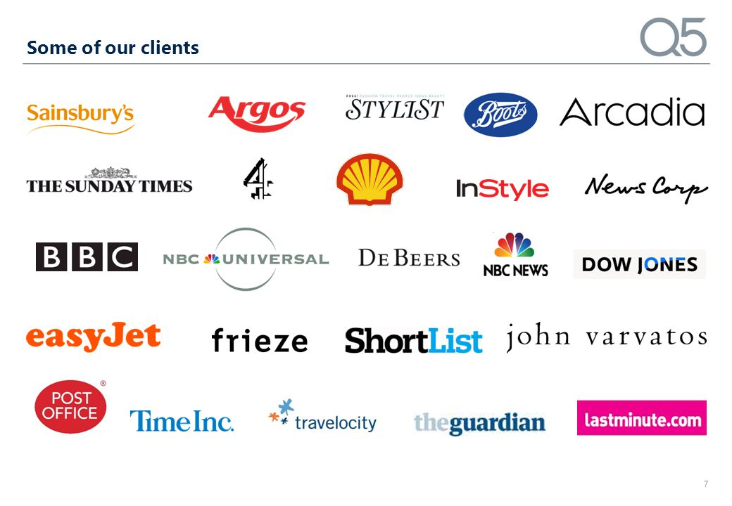 Some of our clients