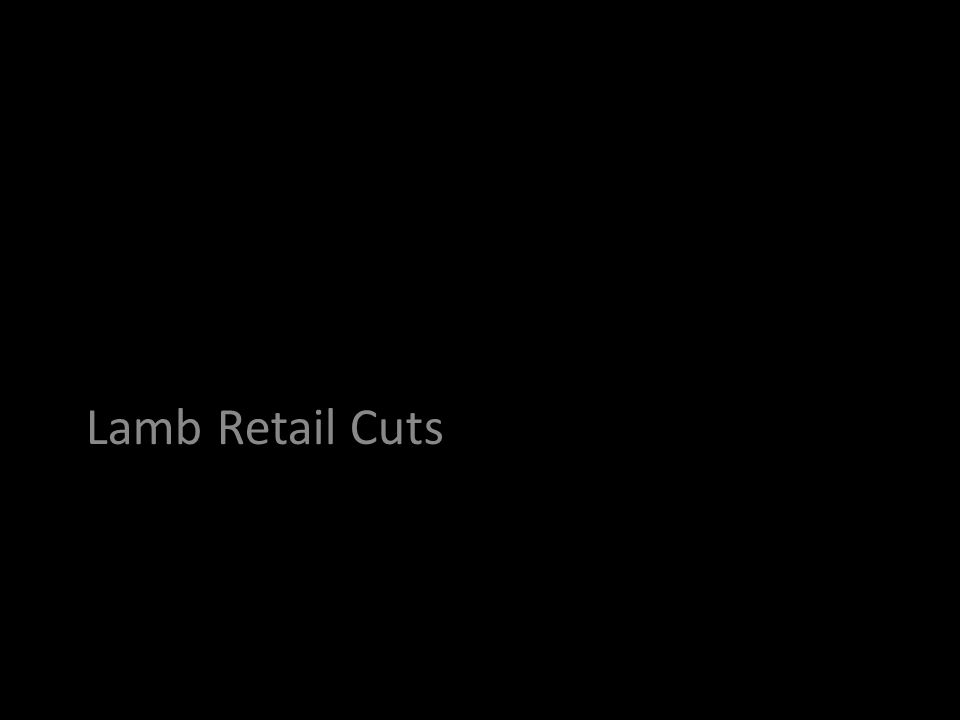 Lamb Retail Cuts