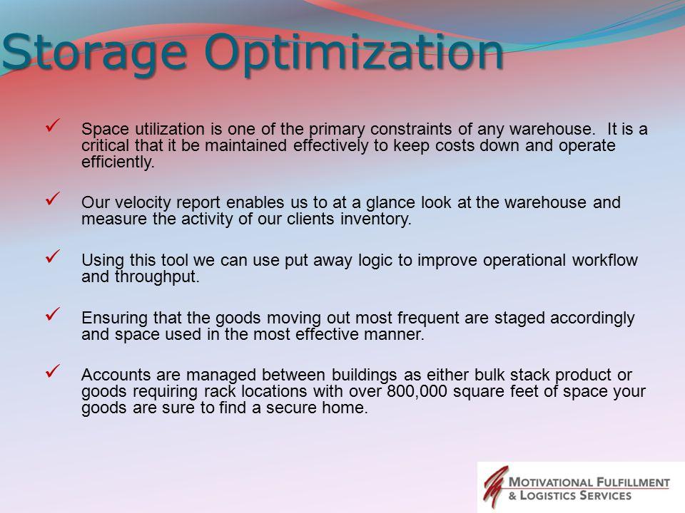 Storage Optimization
