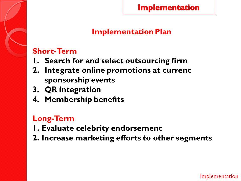 Implementation Implementation Plan