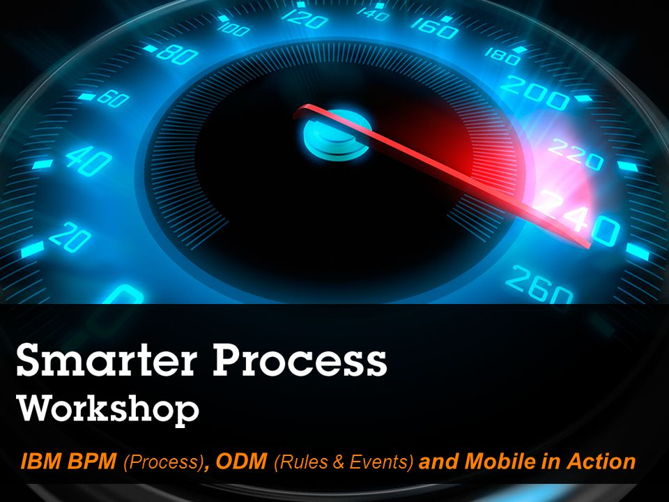 IBM BPM (Process), ODM (Rules & Events) and Mobile in Action