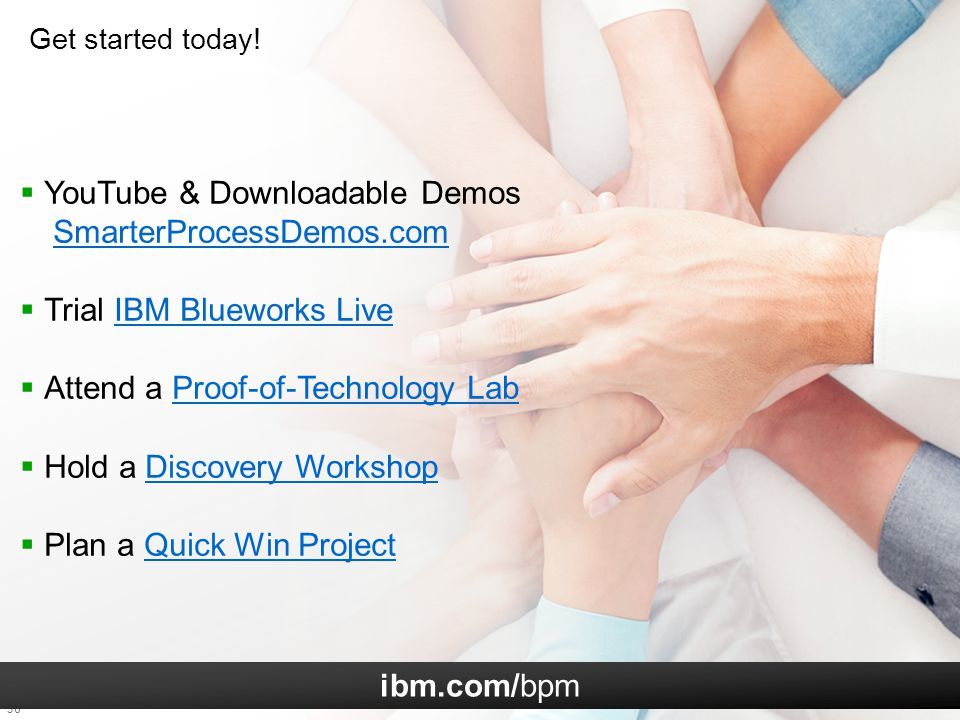 YouTube & Downloadable Demos SmarterProcessDemos.com