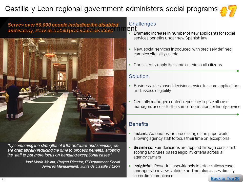 Castilla y Leon regional government
