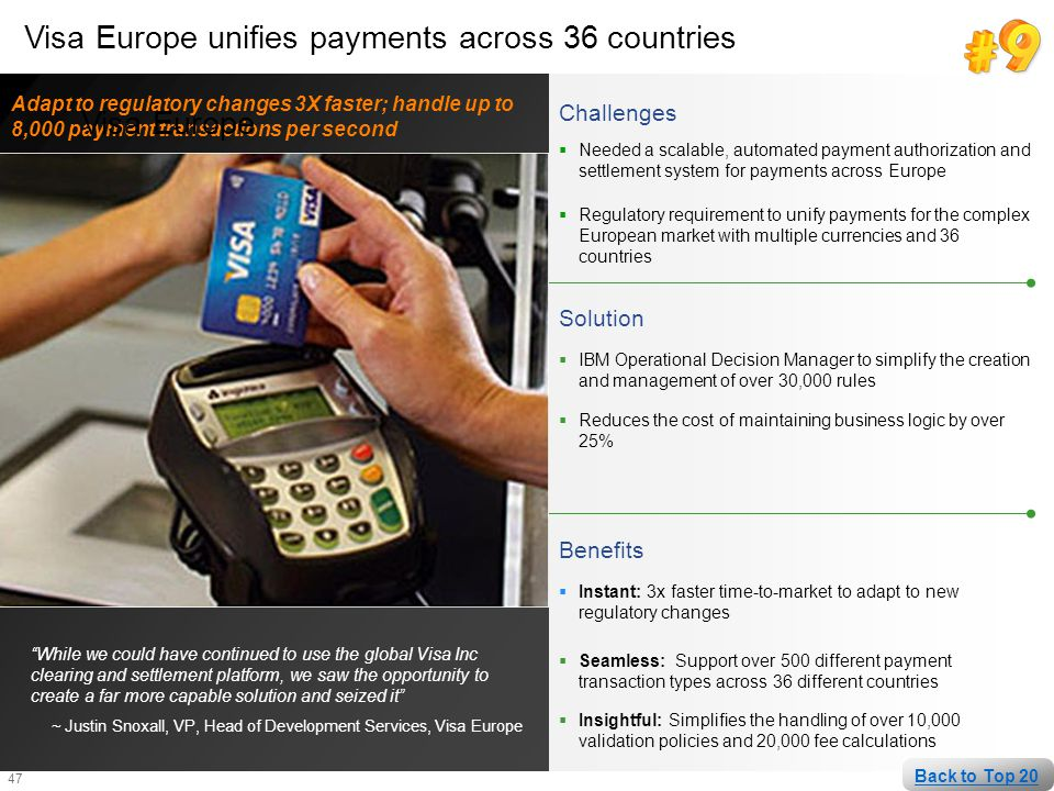 Visa Europe unifies payments across 36 countries Visa Europe