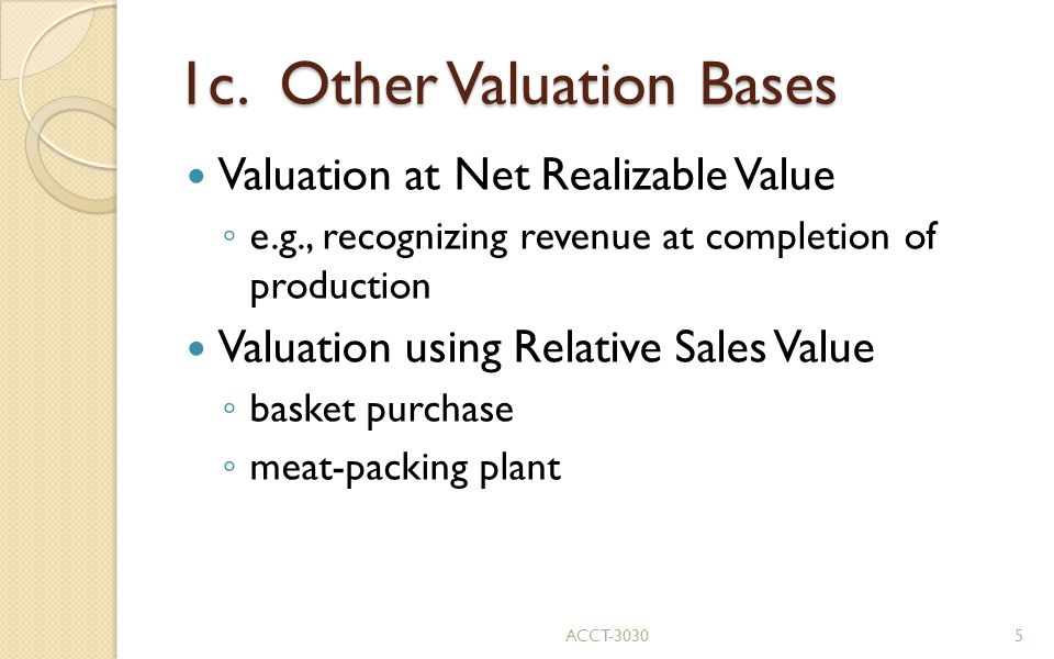 1c. Other Valuation Bases