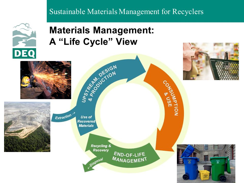 Materials Management: A Life Cycle View