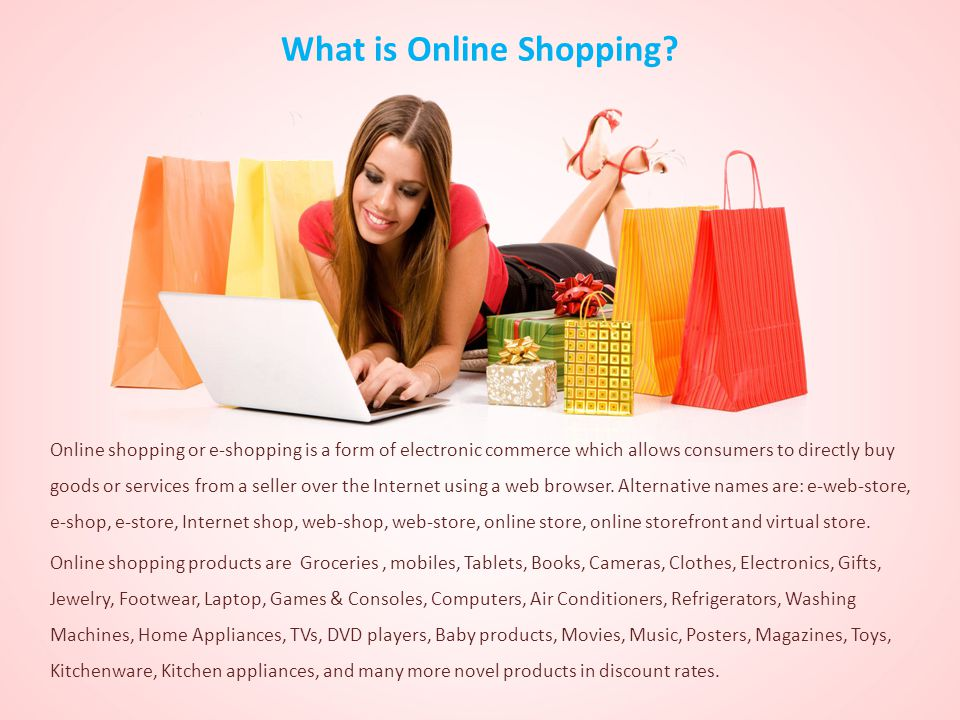 What is Online Shopping