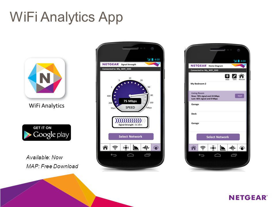 WiFi Analytics App Available: Now MAP: Free Download