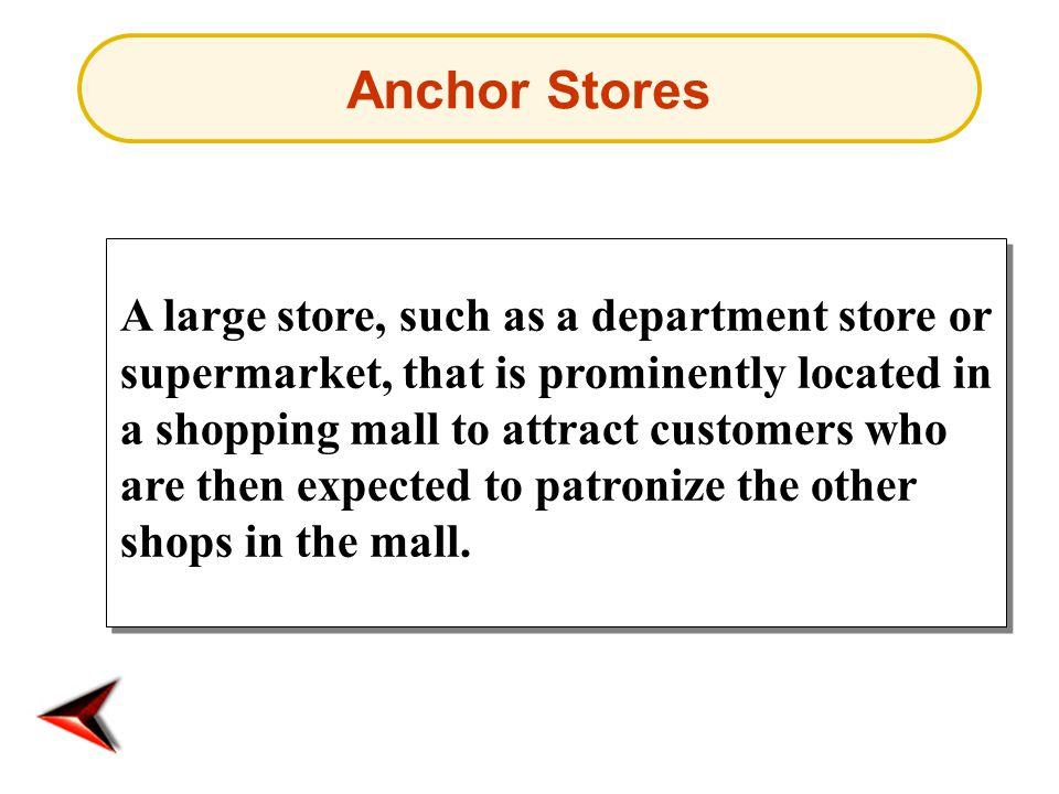 Anchor Stores