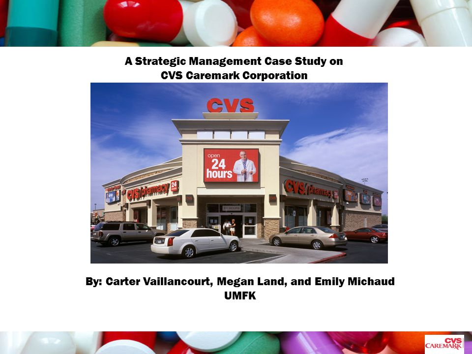 cvs case study Villanova school of business vsb 1002- business dynamics ii pharmacy service improvement at cvs (a) harvard business school case 9-605-015 (rev october 20 2006 case study assignment problems arose in almost every part of the fulfillment process, as explained below: drop off staff asked for name, address,.