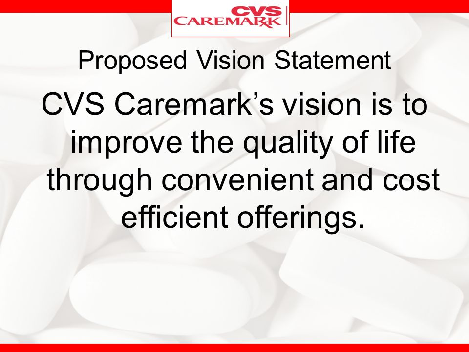 Proposed Vision Statement