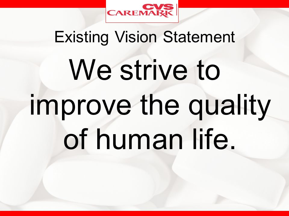 Existing Vision Statement