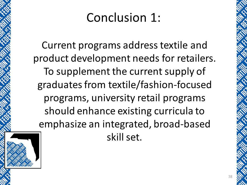 Conclusion 1: