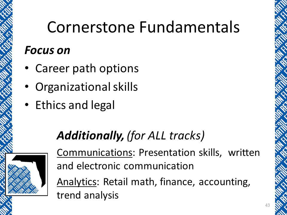 Cornerstone Fundamentals