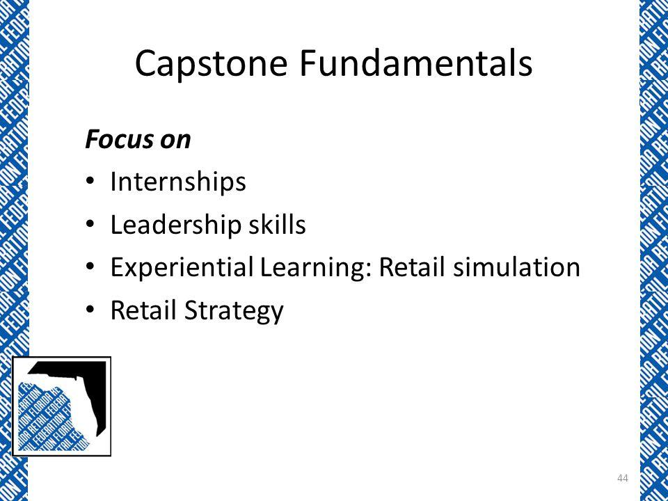 Capstone Fundamentals