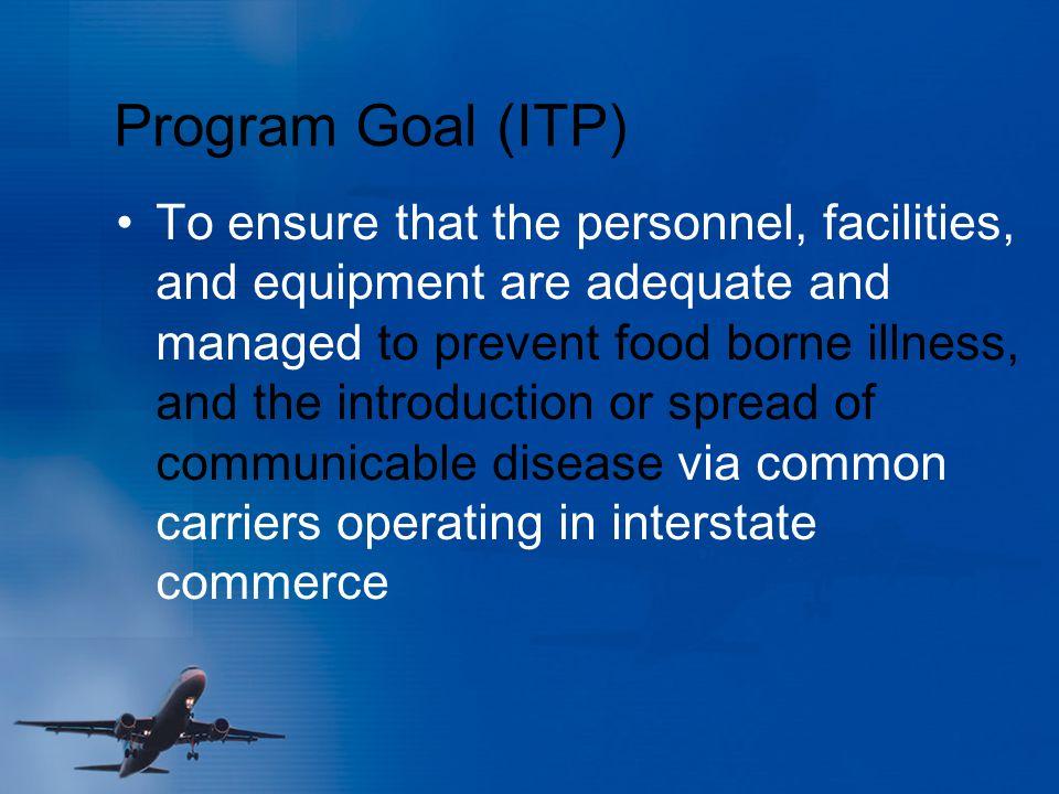 Program Goal (ITP)