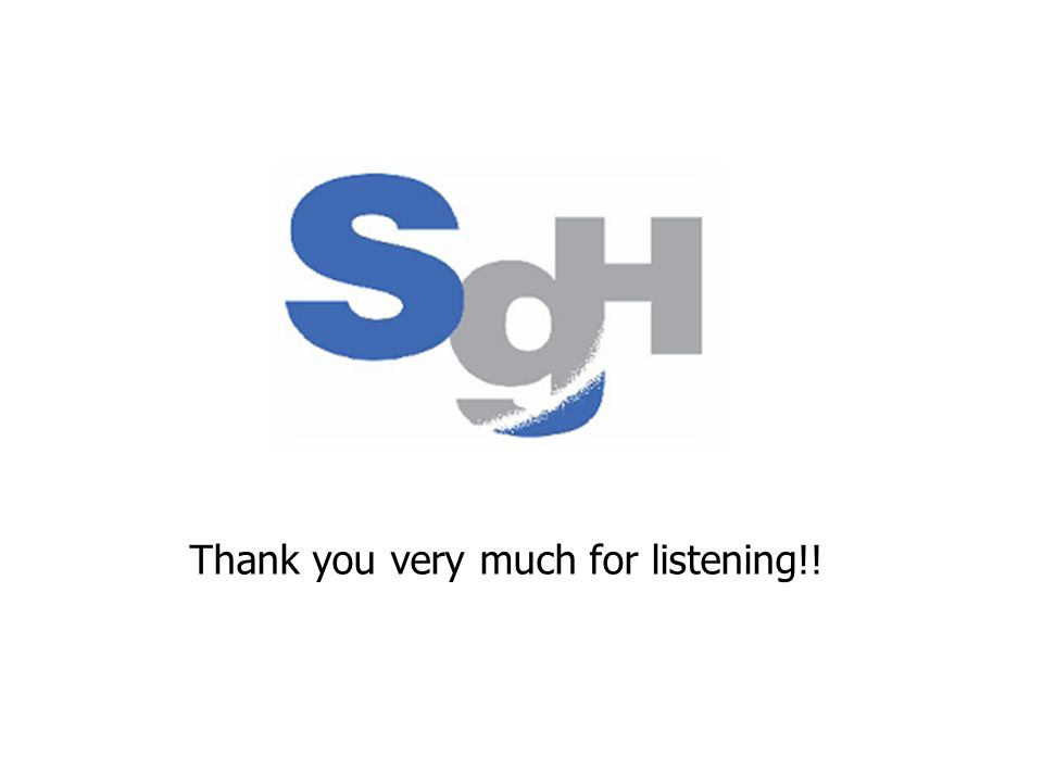 Thank you very much for listening!!