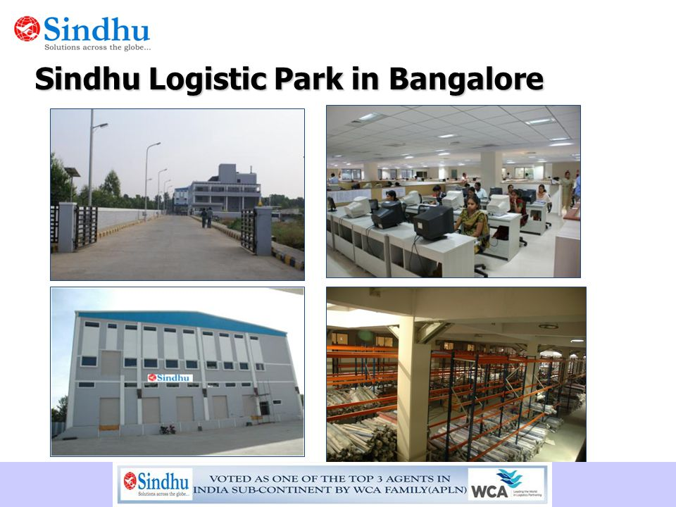 Sindhu Logistic Park in Bangalore