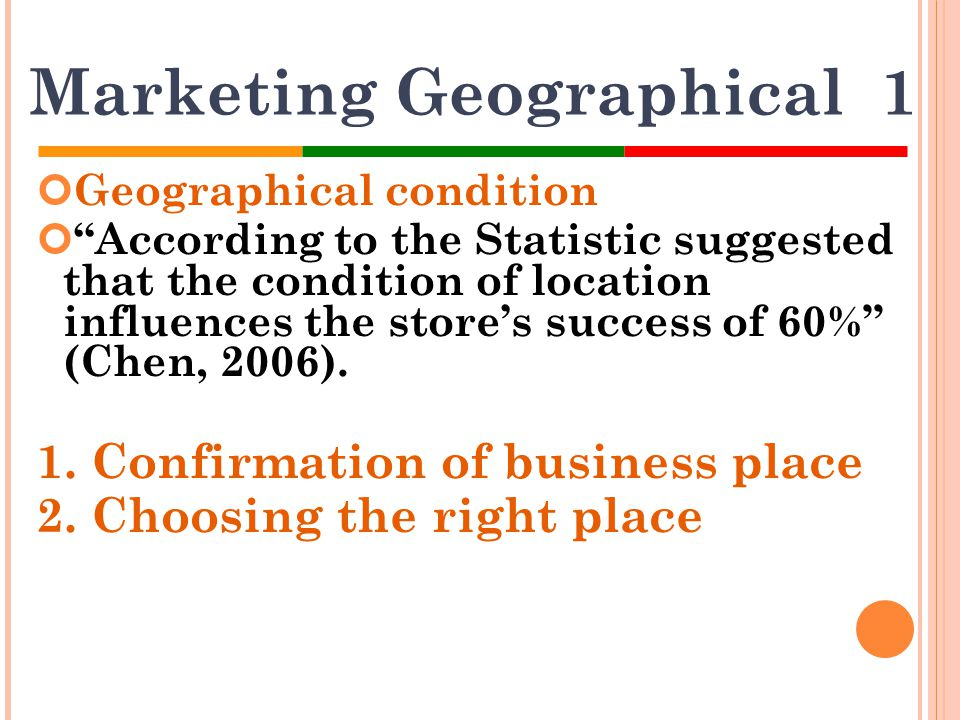 Marketing Geographical 1