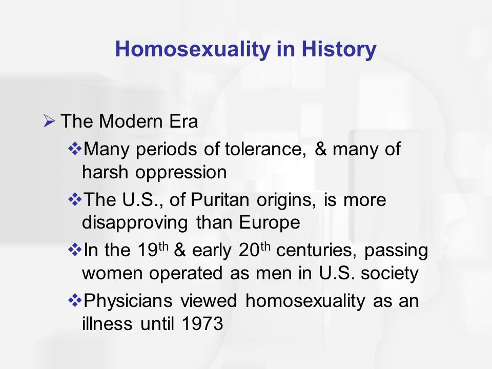 Homosexuality in History