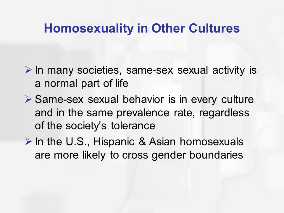 Homosexuality in Other Cultures