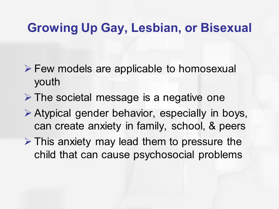 Growing Up Gay, Lesbian, or Bisexual