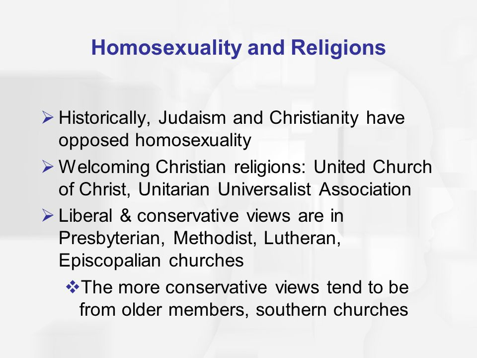 Homosexuality and Religions