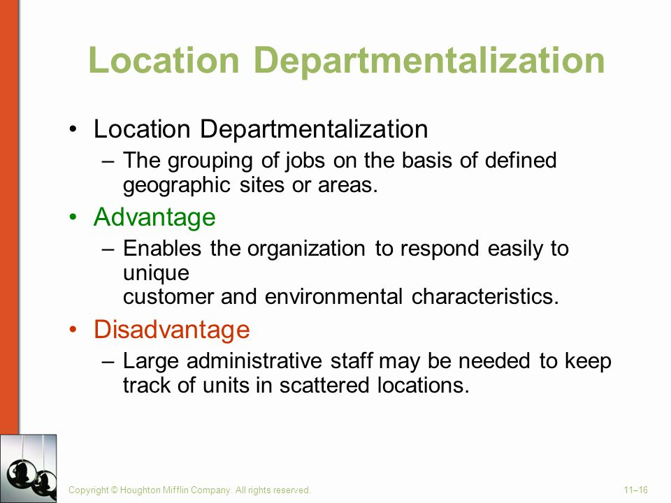 Location Departmentalization