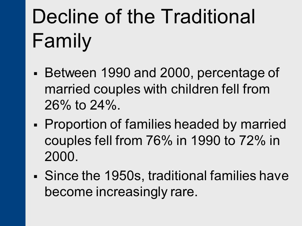 deterioration of the nuclear family Family change and family diversity frank f furstenberg deterioration of the nuclear family form is compromising the future stability of american society, as so many.